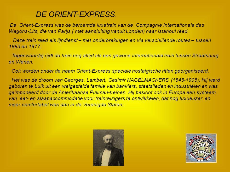 DE ORIENT-EXPRESS.