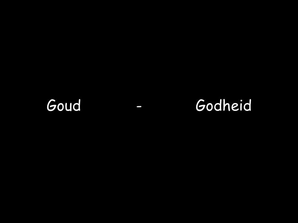 Goud - Godheid