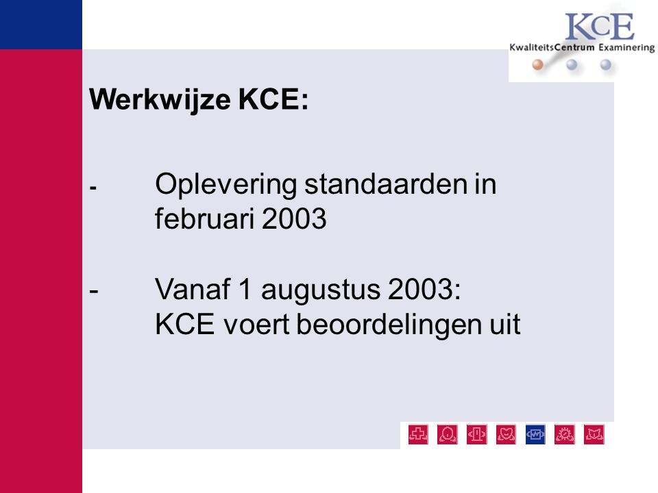 KCE voert beoordelingen uit