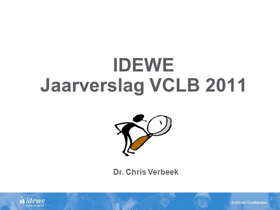 IDEWE Jaarverslag VCLB 2011