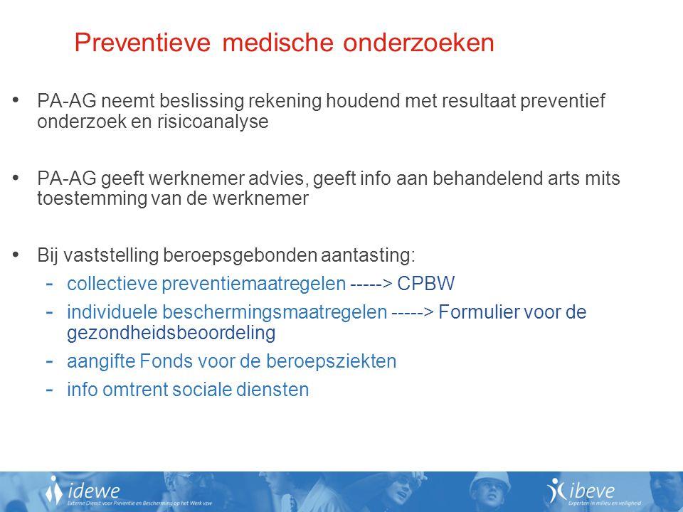 Preventieve medische onderzoeken