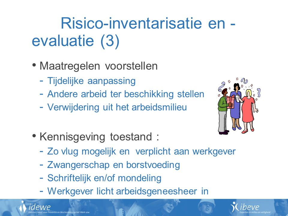 Risico-inventarisatie en -evaluatie (3)