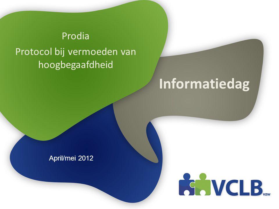 Prodia Protocol bij vermoeden van hoogbegaafdheid