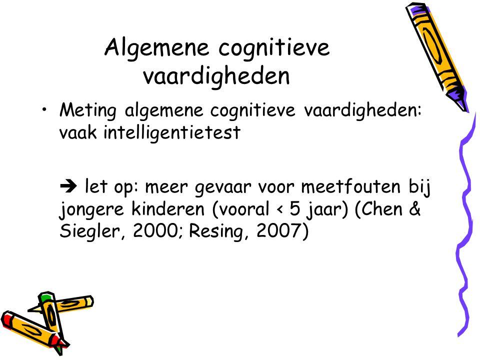 Algemene cognitieve vaardigheden