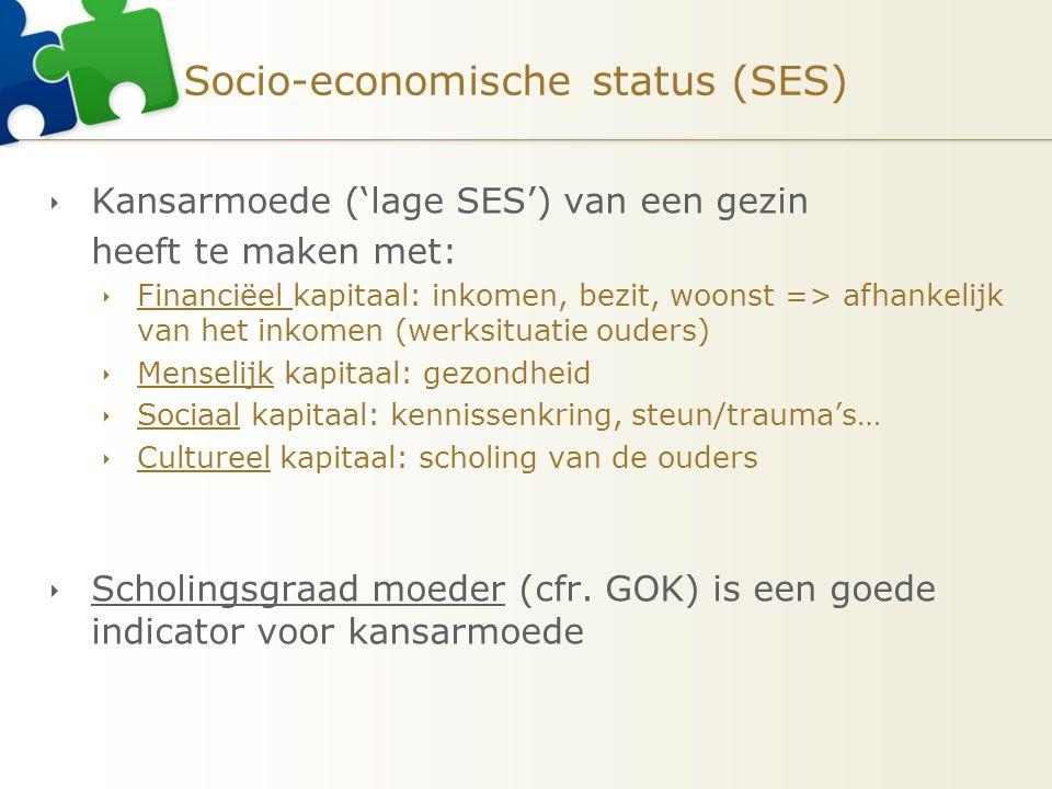 Socio-economische status (SES)