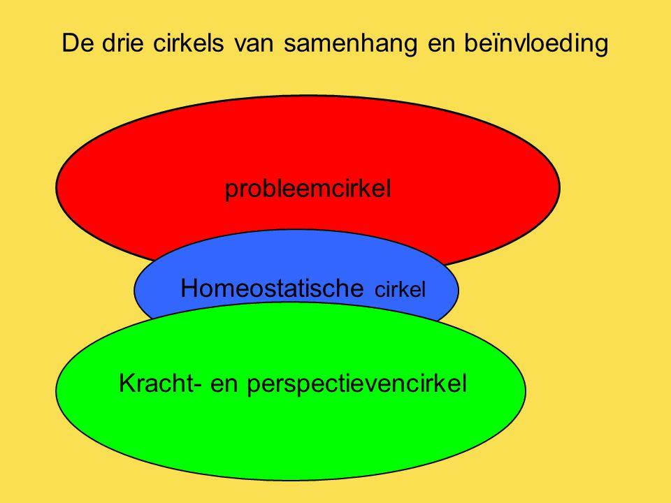 De drie cirkels van samenhang en beïnvloeding