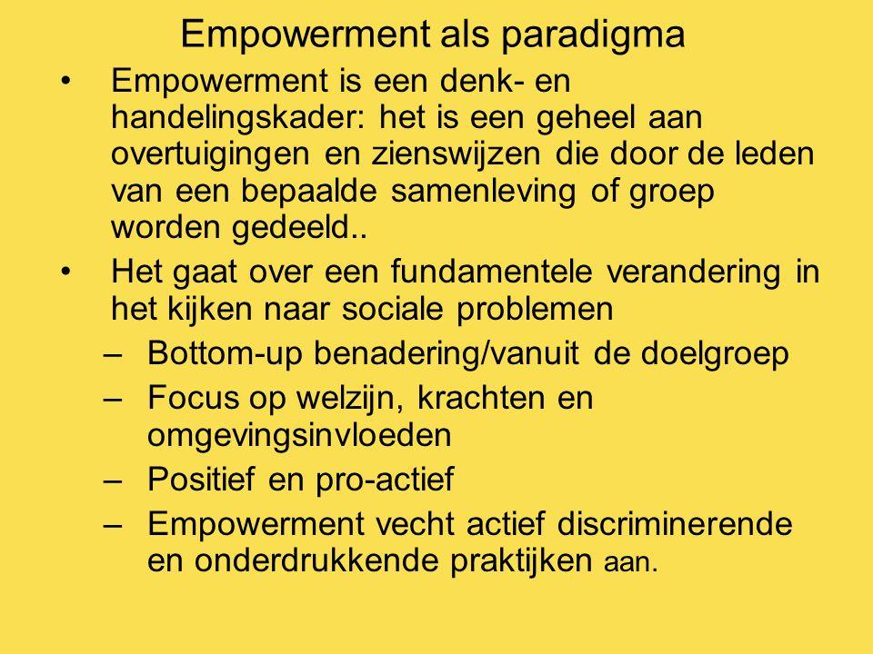 Empowerment als paradigma