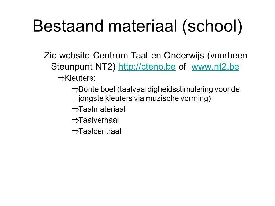 Bestaand materiaal (school)