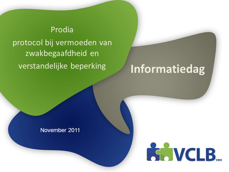 Informatiedag Prodia protocol bij vermoeden van zwakbegaafdheid en