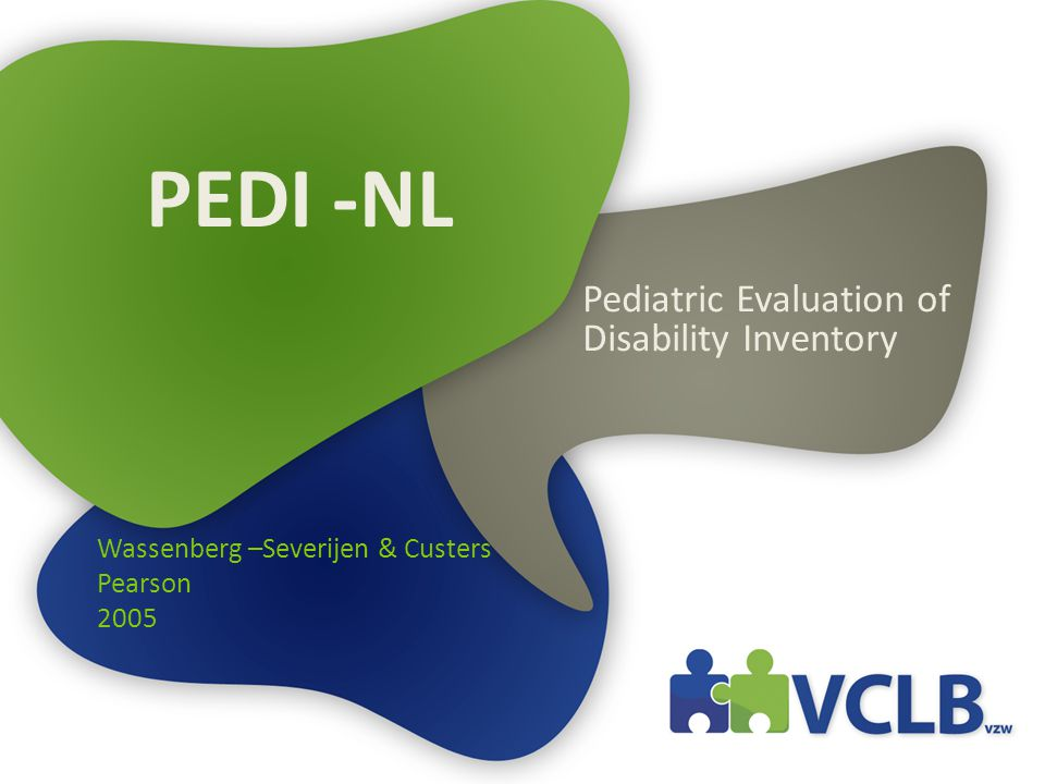 Pediatric Evaluation of Disability Inventory