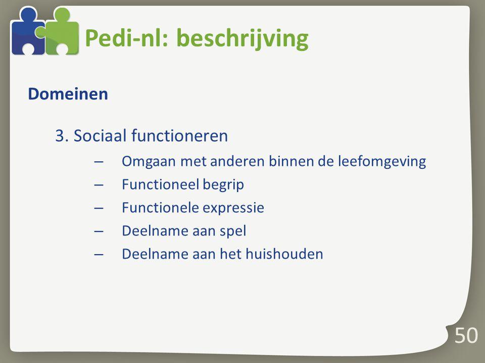 Pedi-nl: beschrijving