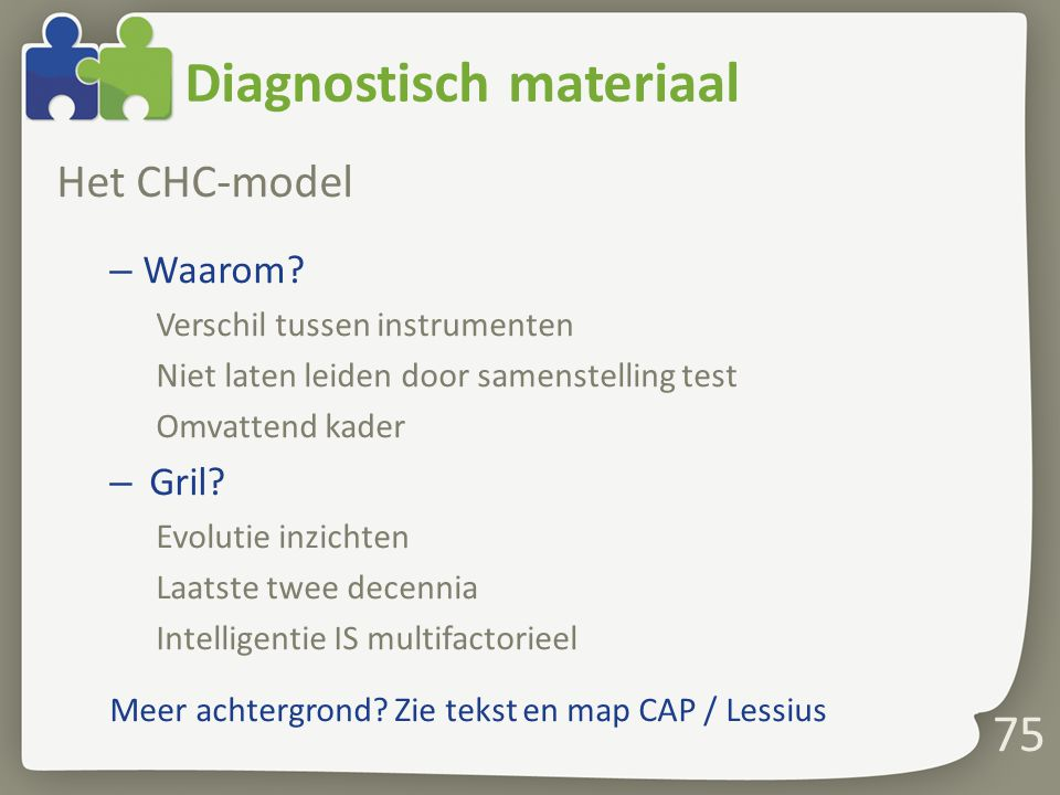 Diagnostisch materiaal