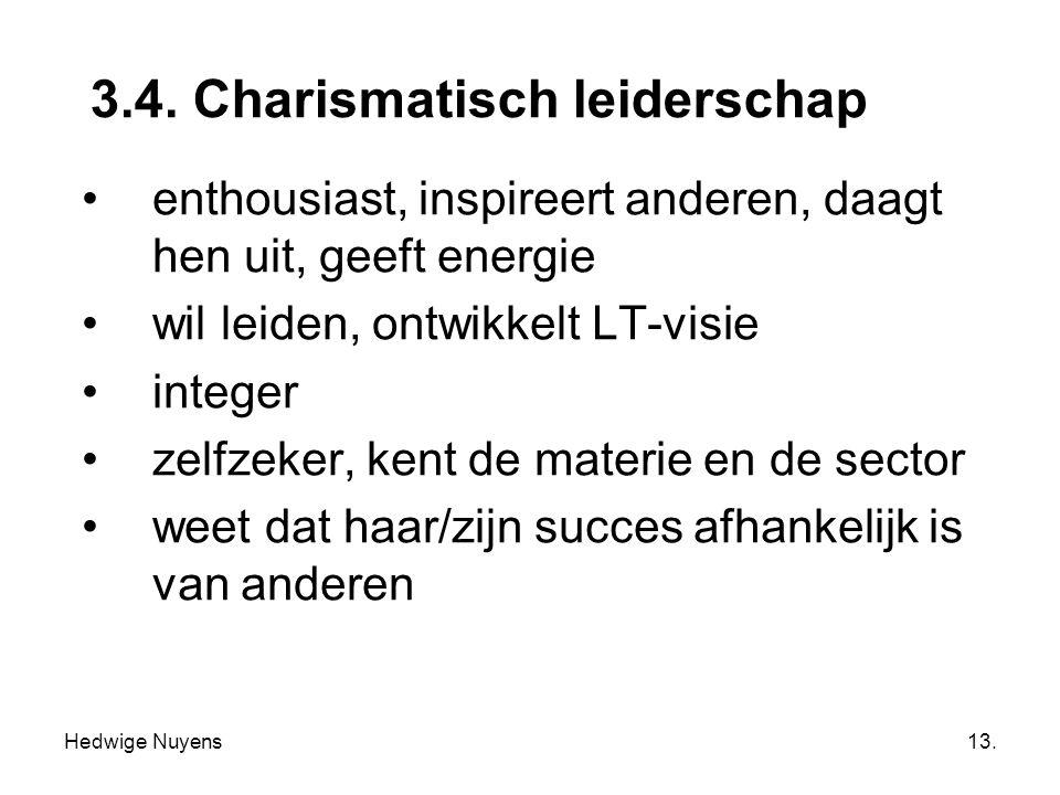 3.4. Charismatisch leiderschap