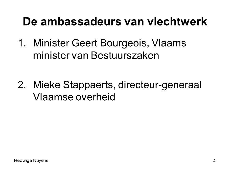 De ambassadeurs van vlechtwerk
