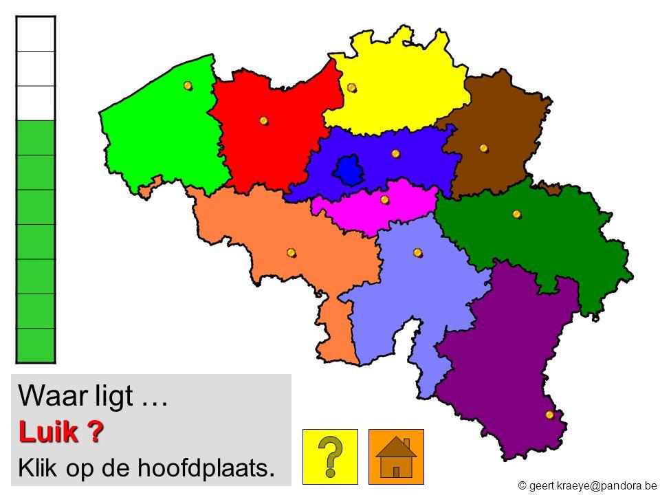 Waar ligt … Luik Klik op de hoofdplaats.