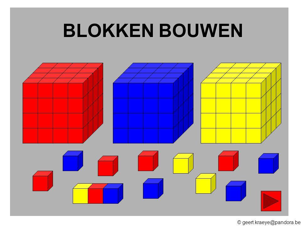 BLOKKEN BOUWEN