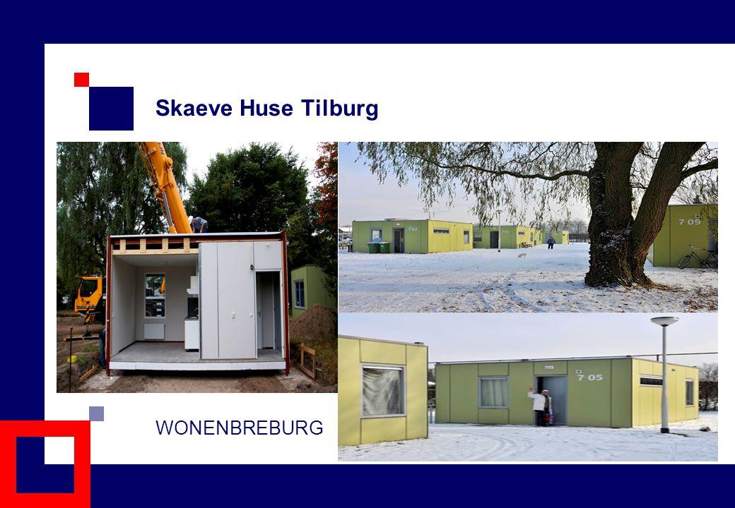Skaeve Huse Tilburg WONENBREBURG