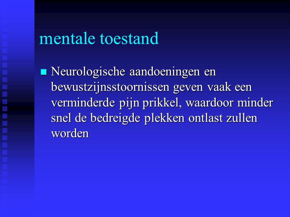 mentale toestand