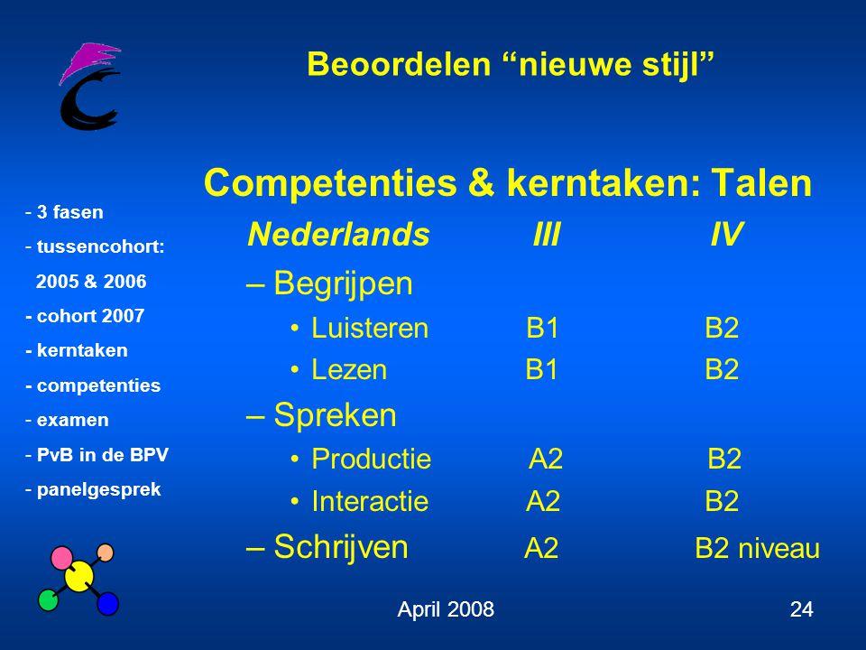 Competenties & kerntaken: Talen