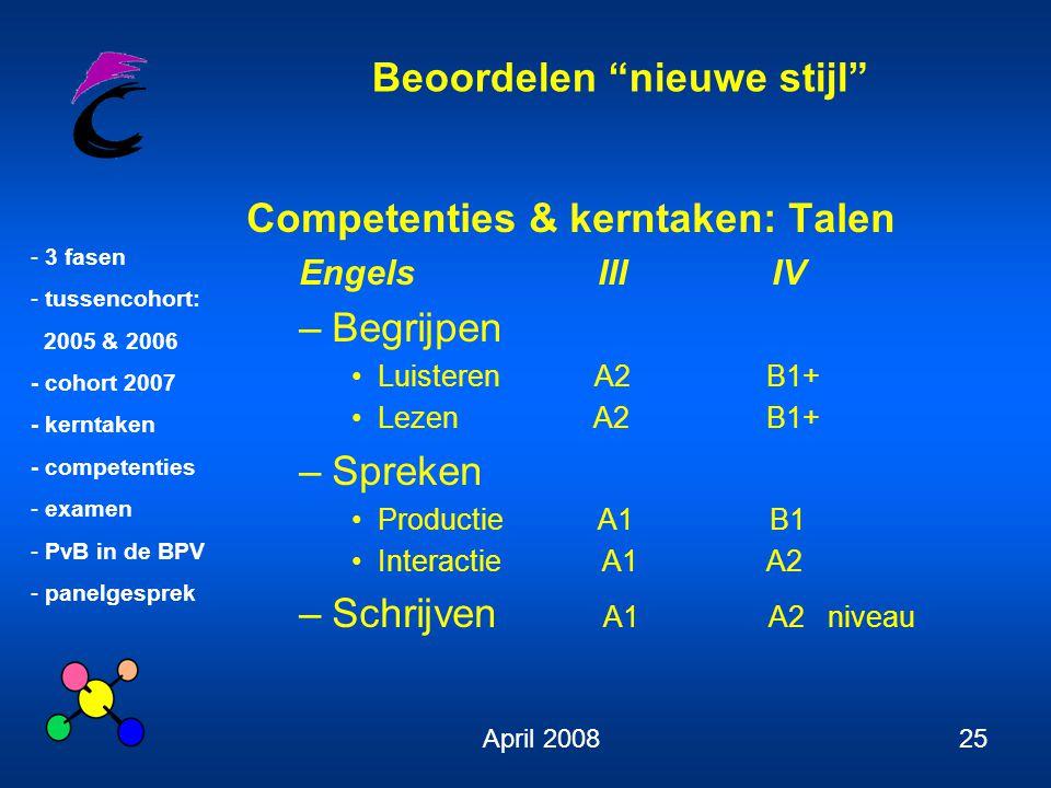 Competenties & kerntaken: Talen Begrijpen