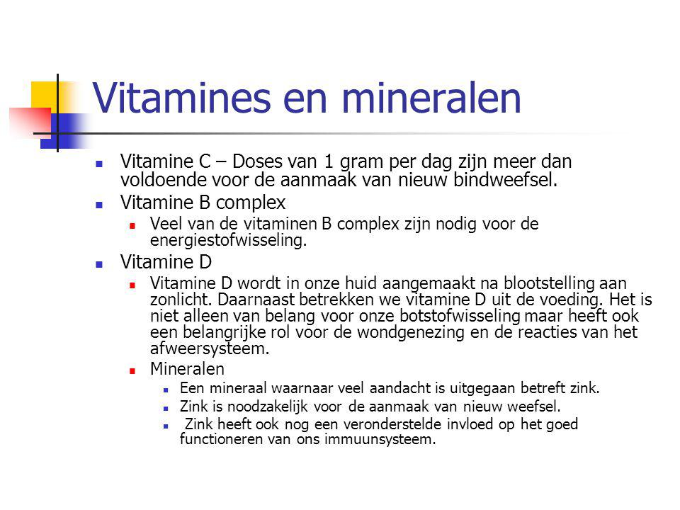 Vitamines en mineralen