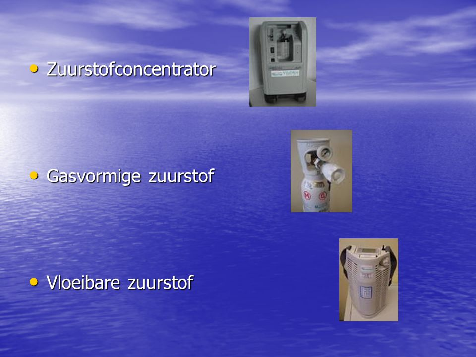 Zuurstofconcentrator