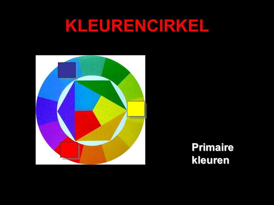 KLEURENCIRKEL Primaire kleuren