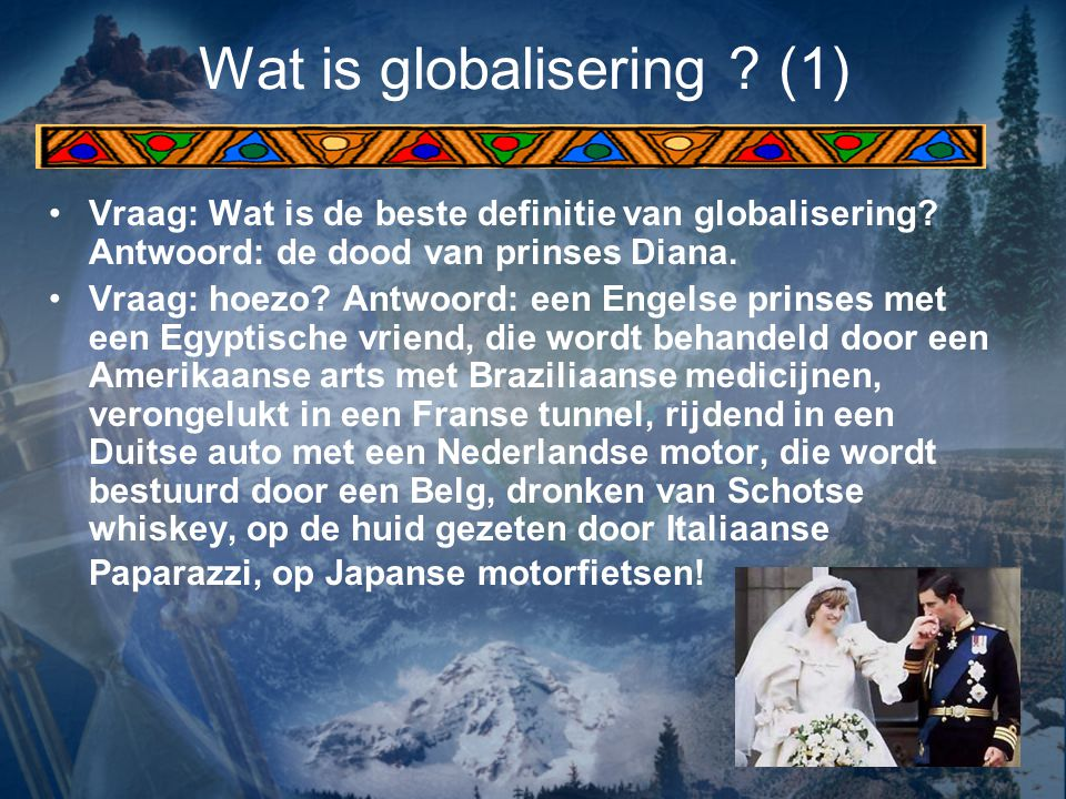 Wat is globalisering (1)
