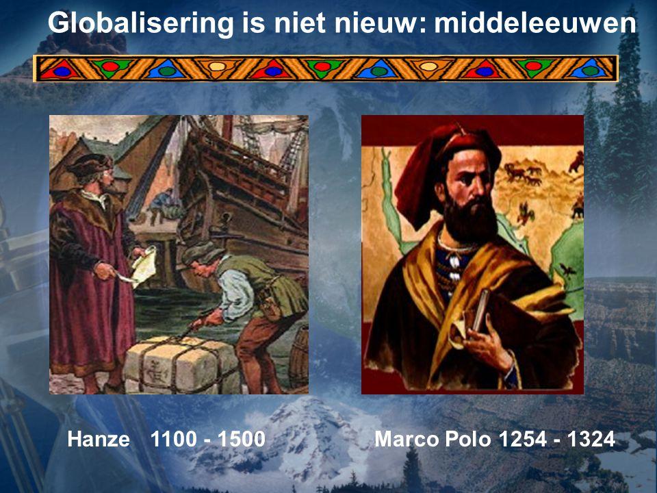 Globalisering is niet nieuw: middeleeuwen