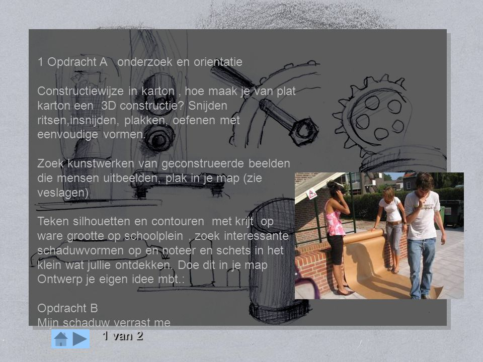 OPDRACHT mens machine 1 Opdracht A onderzoek en orientatie