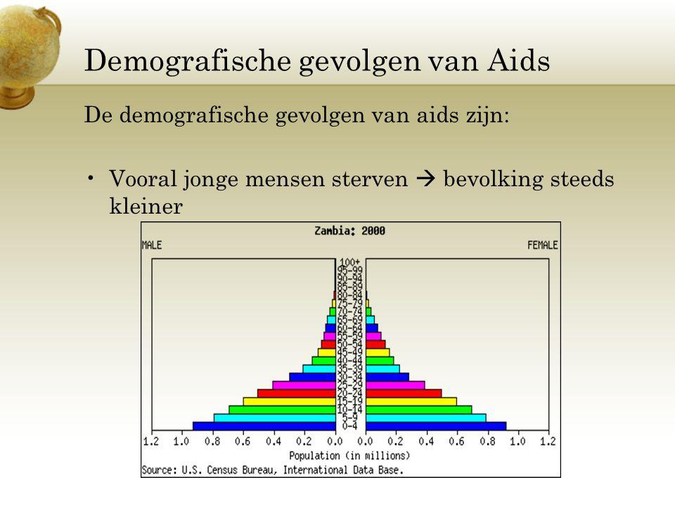 Demografische gevolgen van Aids