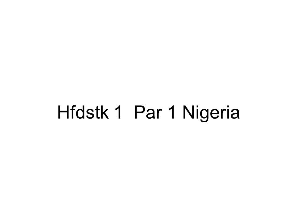 Hfdstk 1 Par 1 Nigeria