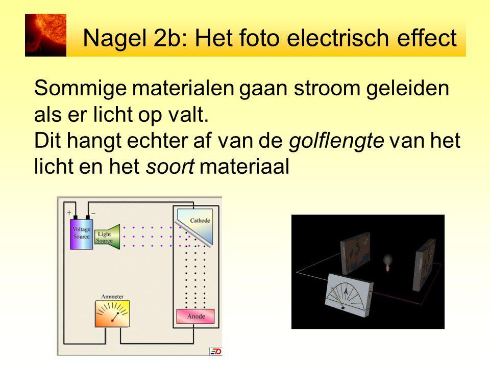 Nagel 2b: Het foto electrisch effect