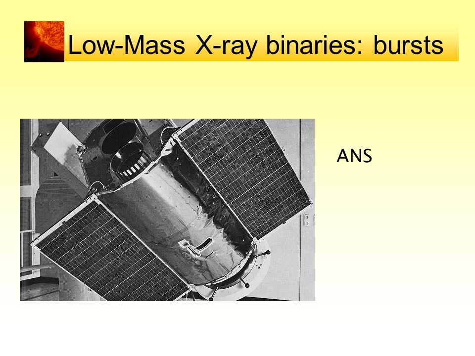 Low-Mass X-ray binaries: bursts