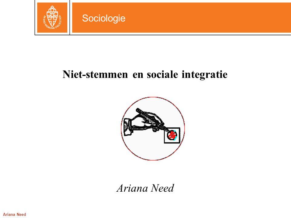 Niet-stemmen en sociale integratie