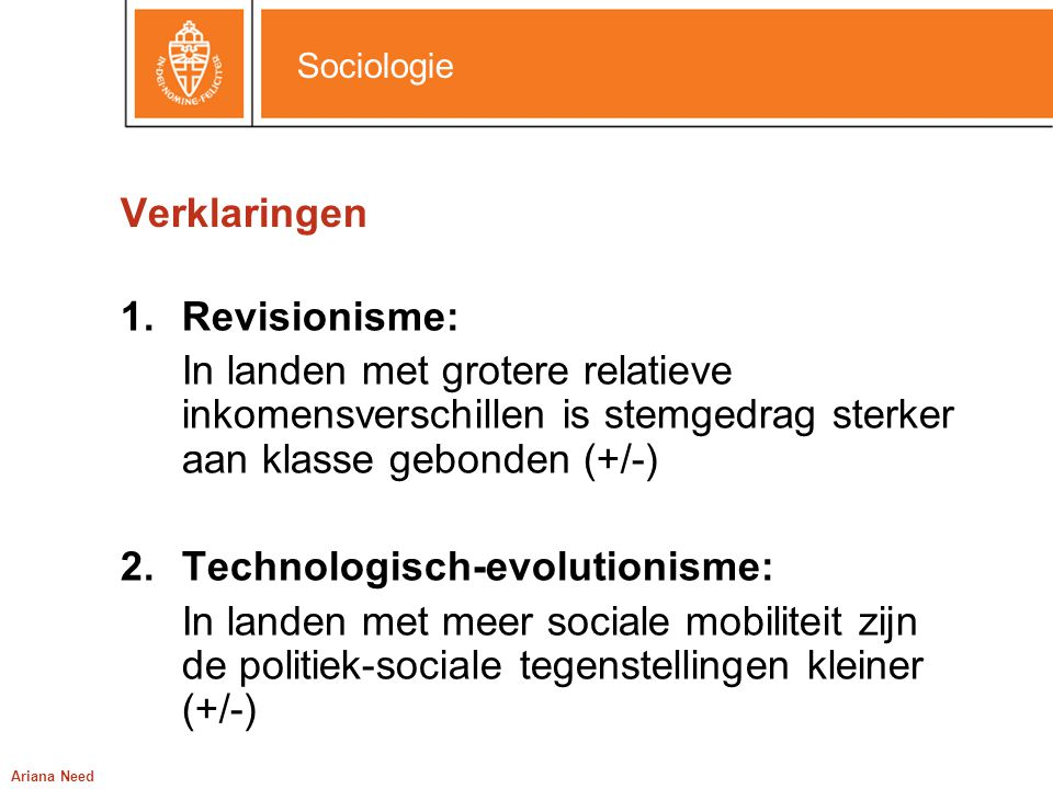 Technologisch-evolutionisme: