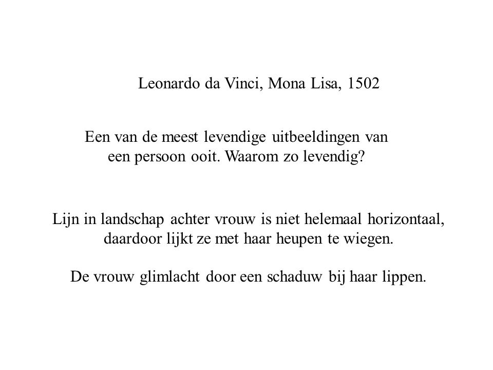 Leonardo da Vinci, Mona Lisa, 1502