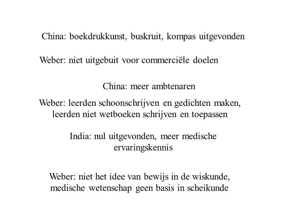 China: boekdrukkunst, buskruit, kompas uitgevonden