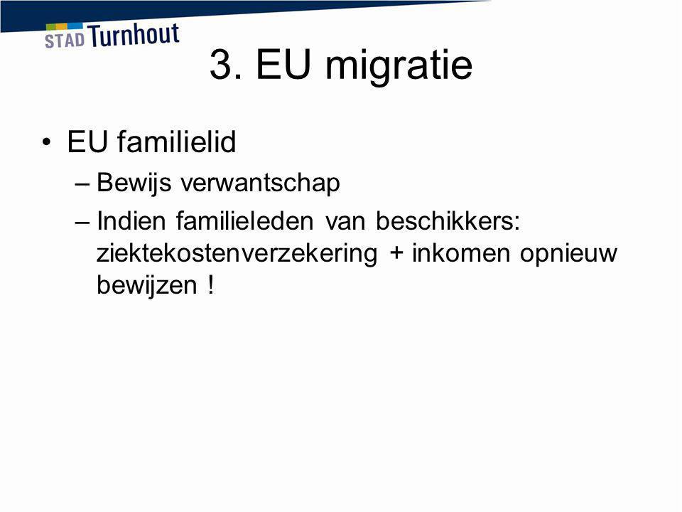 3. EU migratie EU familielid Bewijs verwantschap