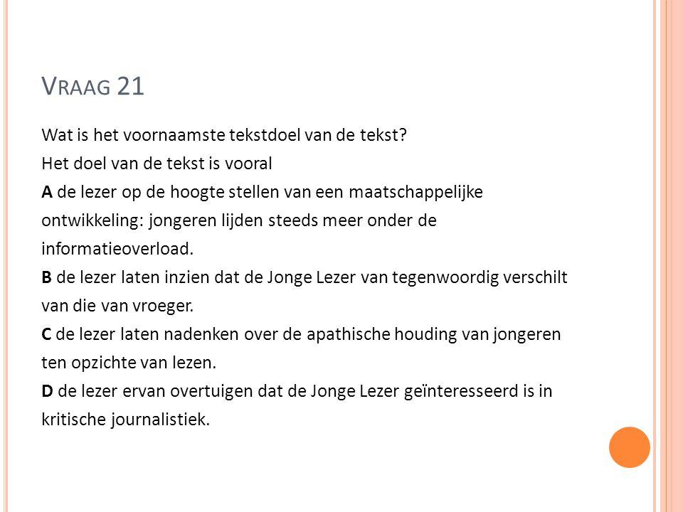 Vraag 21