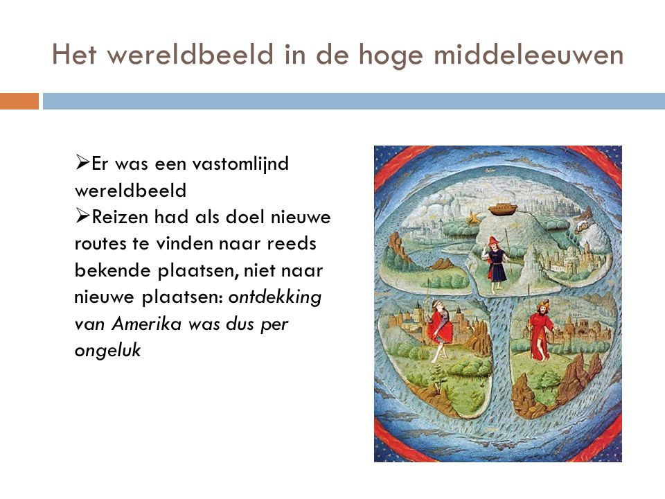 Het wereldbeeld in de hoge middeleeuwen