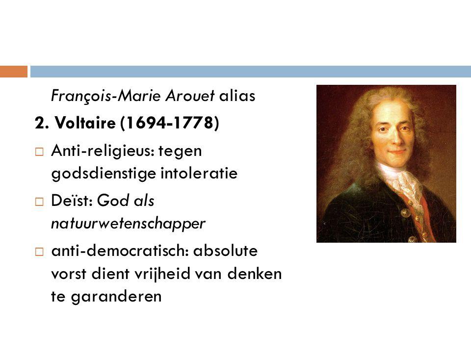 François-Marie Arouet alias
