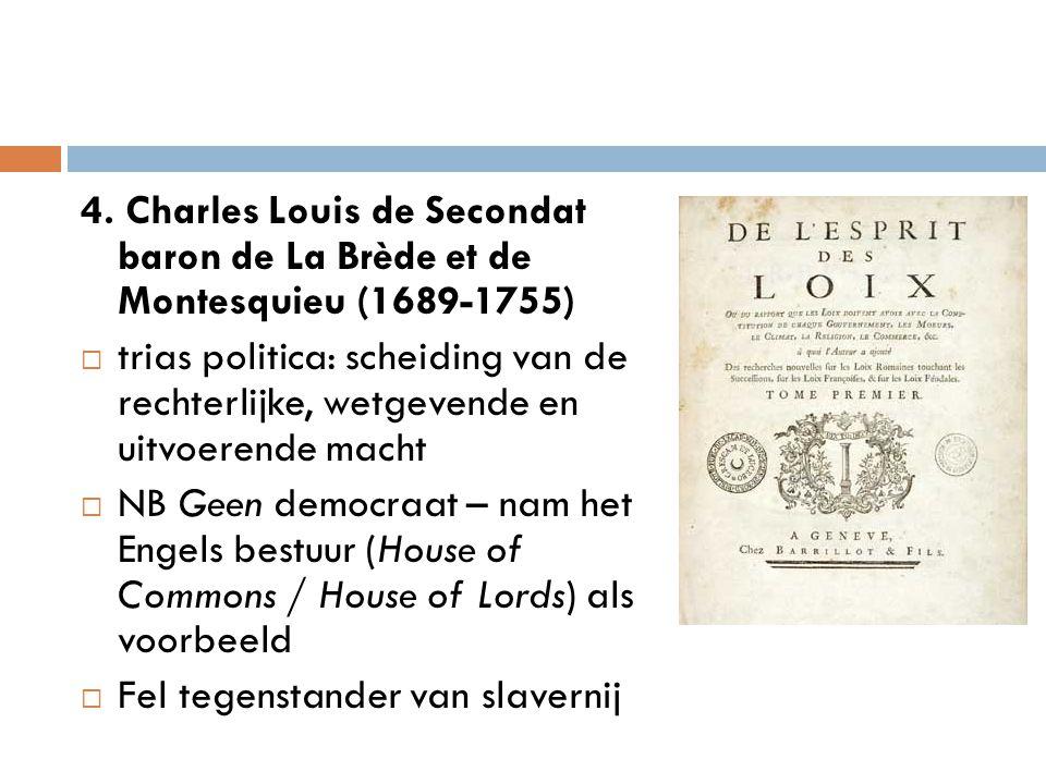4. Charles Louis de Secondat baron de La Brède et de Montesquieu (1689-1755)