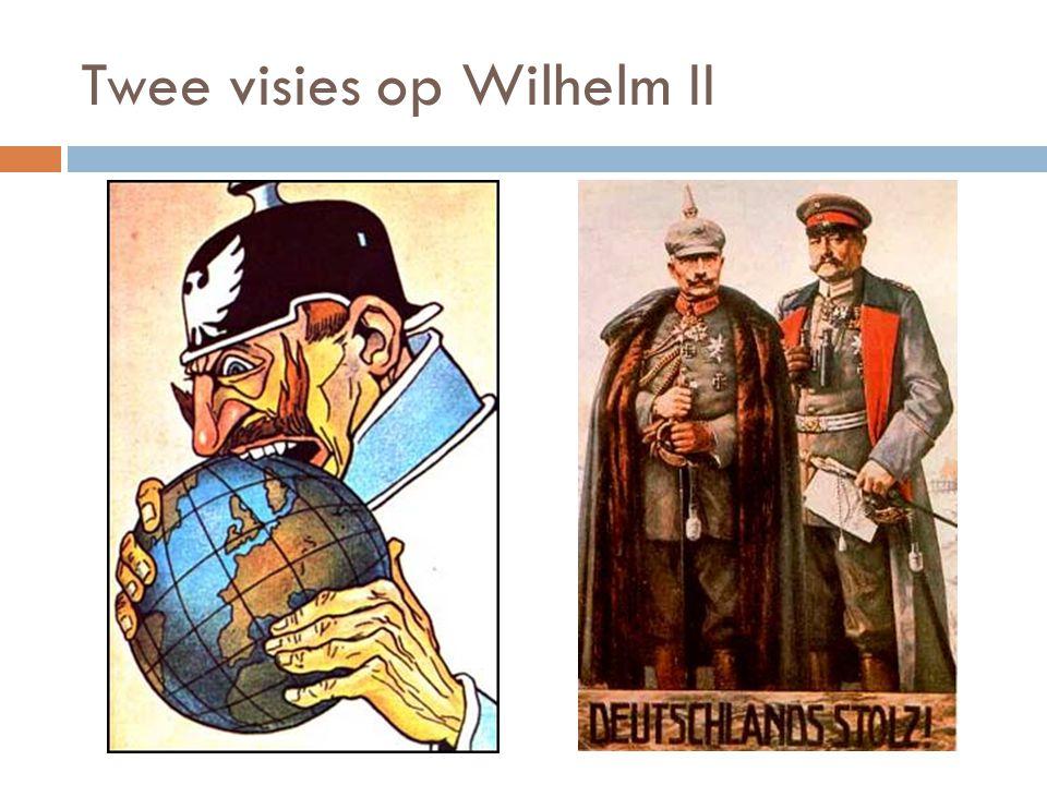 Twee visies op Wilhelm II