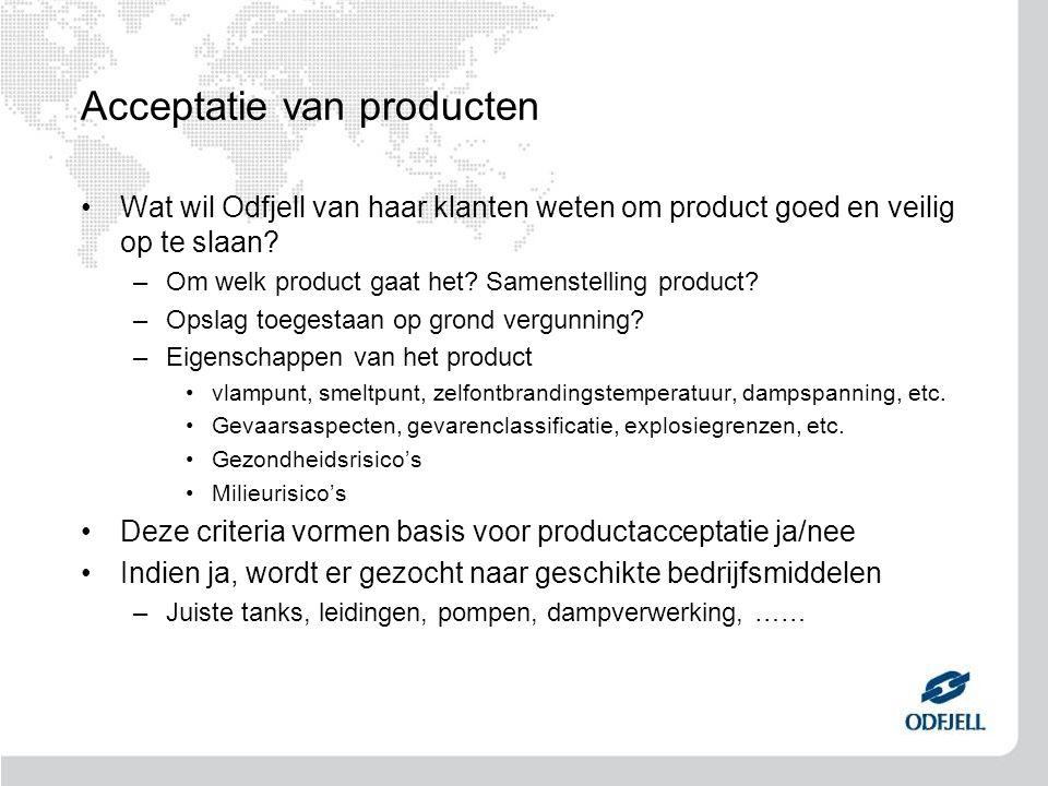Acceptatie van producten