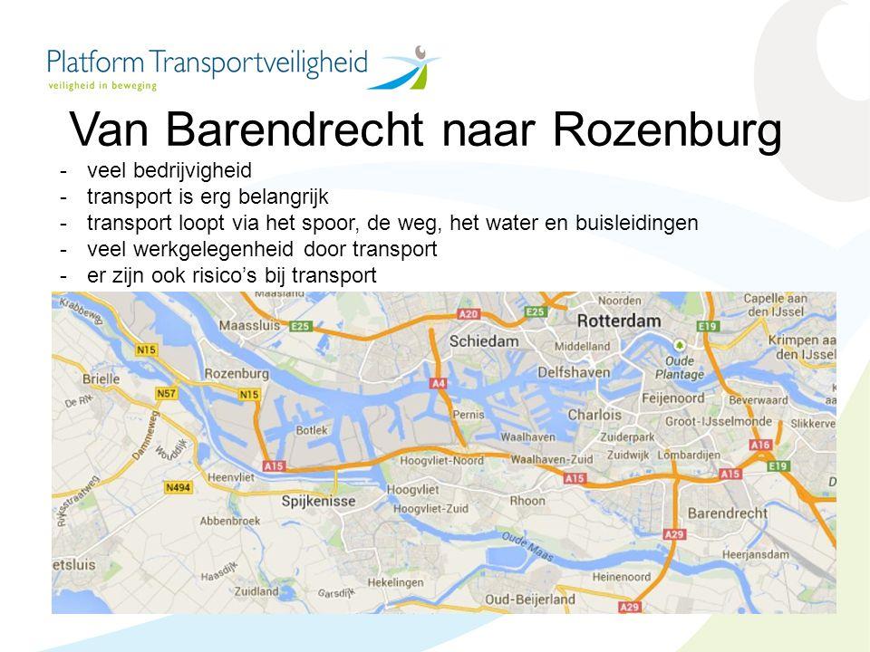 Van Barendrecht naar Rozenburg