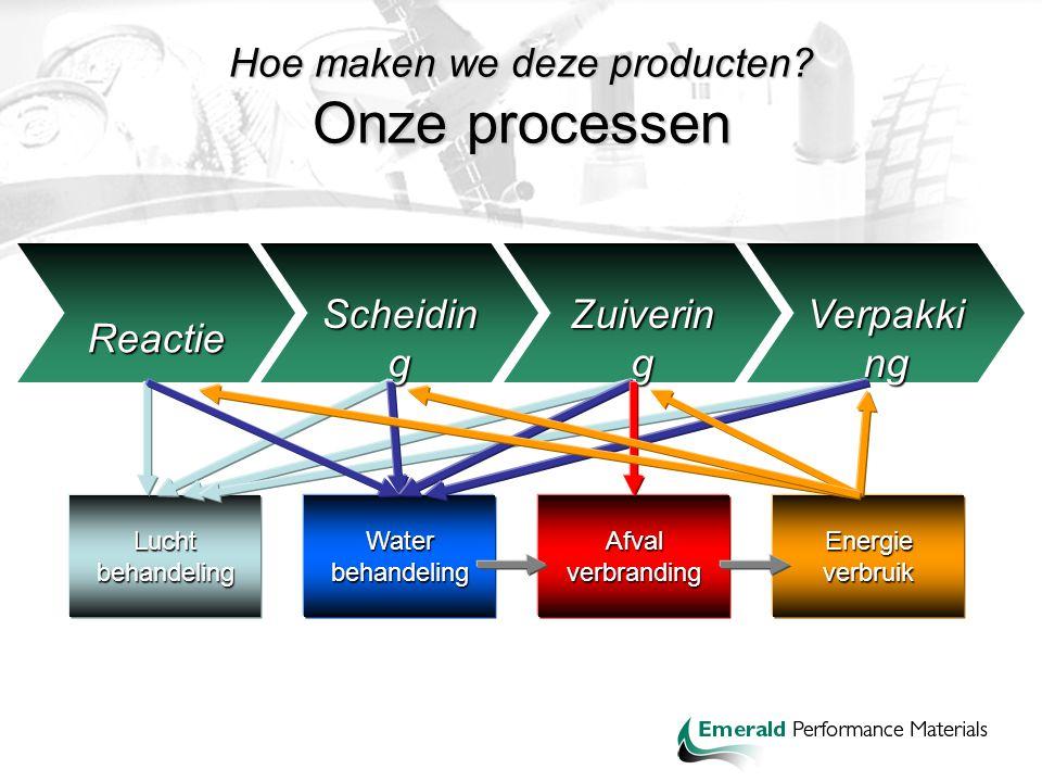 Hoe maken we deze producten Onze processen