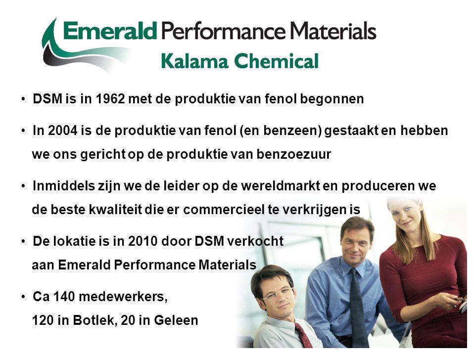 DSM is in 1962 met de produktie van fenol begonnen