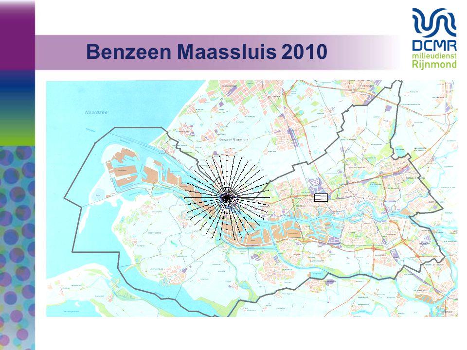 Benzeen Maassluis 2010 De DCMR