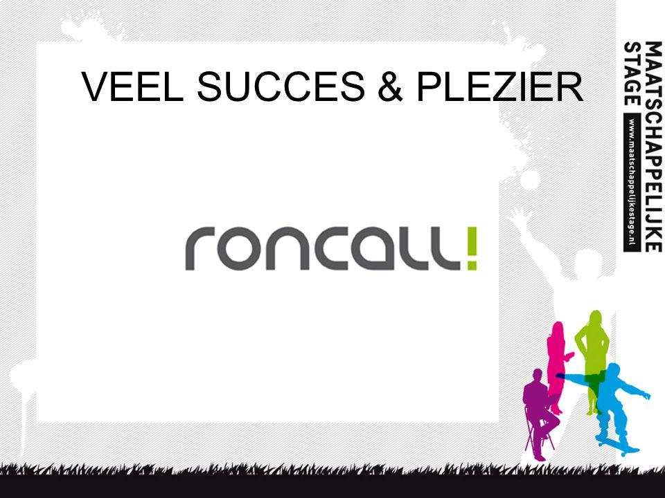 VEEL SUCCES & PLEZIER Mas 2010-2011